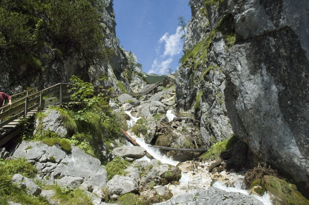 Silberkarklamm in Ramsau am Dachstein - Pension Hofweyer