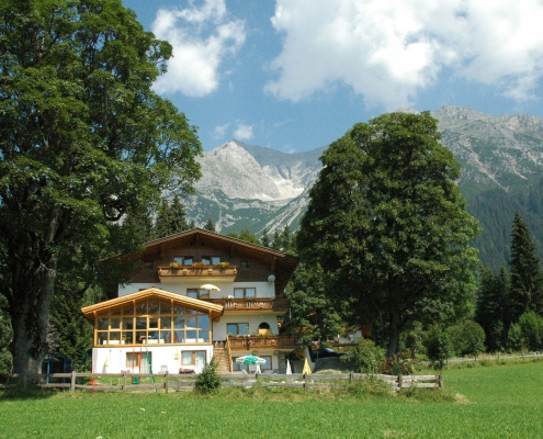 Sommerurlaub in der Pension Hofweyer