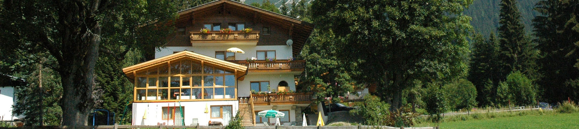 Sommerurlaub Pension Hofweyer